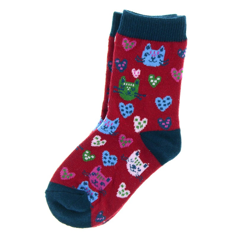 Cat Socks 8-12
