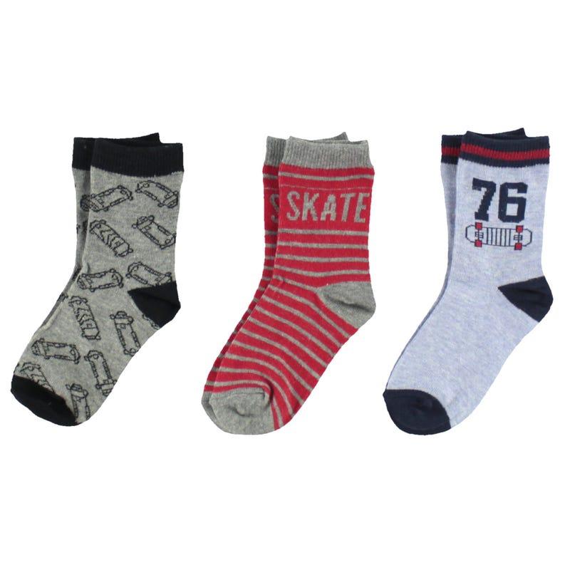 Skate Socks 12-24m - Set of 3