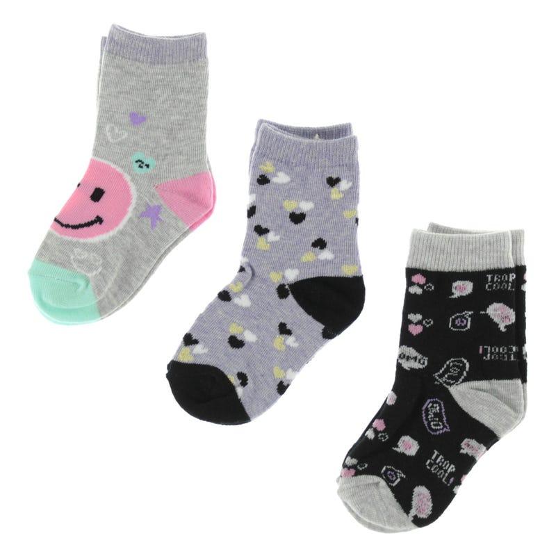 Tropic Socks 8-12y - Set of 3