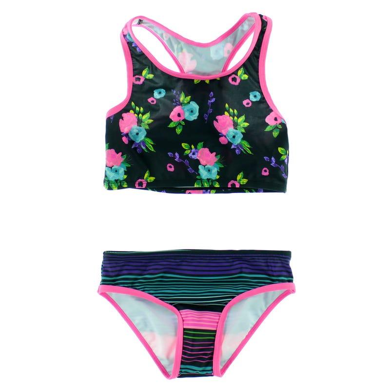 Flowers UV Bikini 7-14y