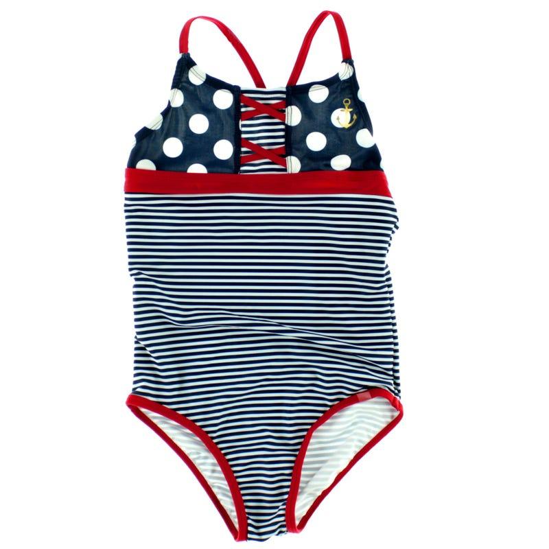 Nautical UV Swimsuit 7-14y