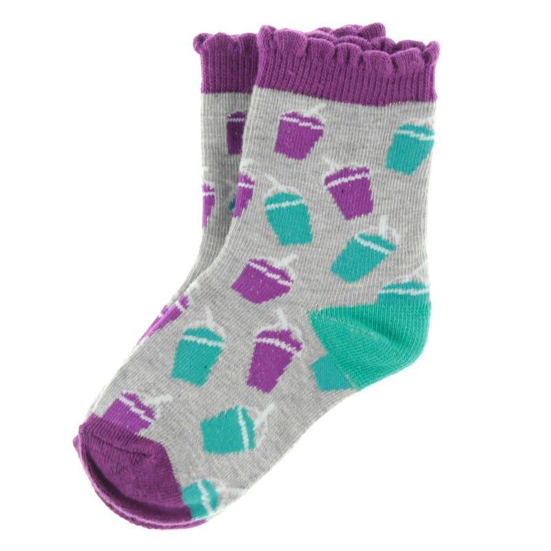 Slush printed Socks 9-24m