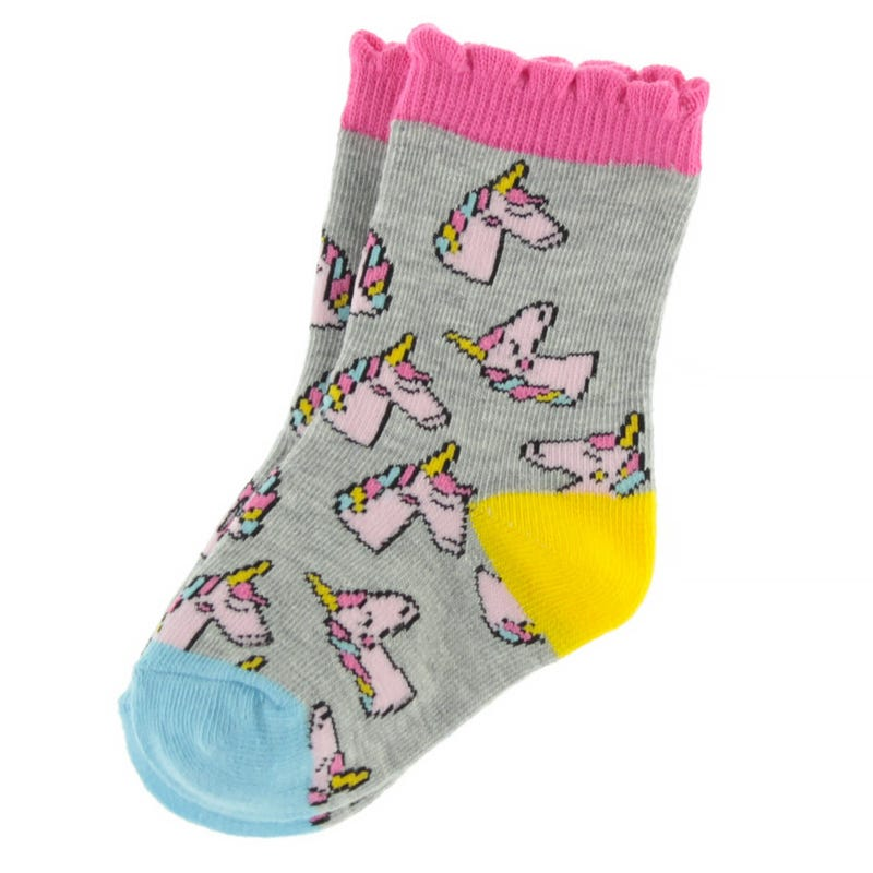 Unicorns Printed Socks 9-24m