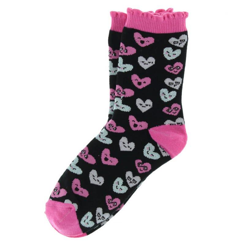 Smileys Printed Socks 2-7