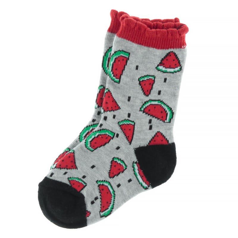 Watermelon Printed Socks 9-24m
