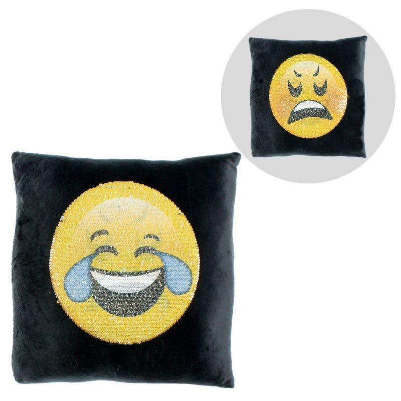 Coussin Brillant Emoji Larme