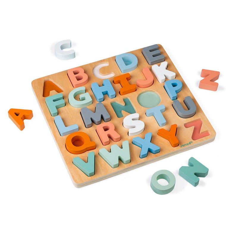 Casse-Tête Alphabet en Bois - Sweet Cocoon