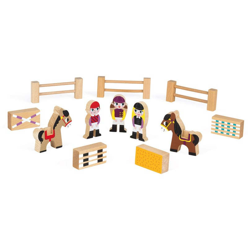 Wooden Toy - Poney Club