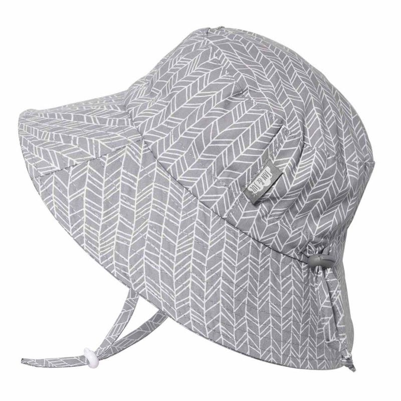 Herringbone Cotton UV Hat 0-5y