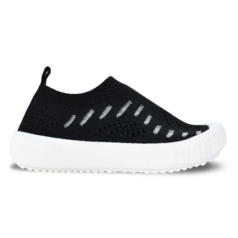 Black Knit Breeze Shoes 5-8