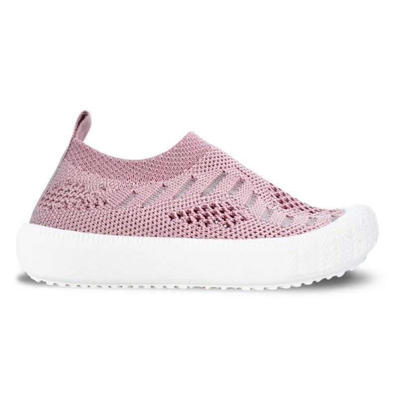 Pale Pink Knit Breeze Shoes 5-8