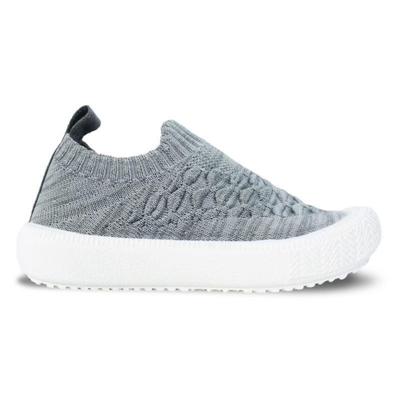 Grey Knit Xplorer Shoes Sizes 5-8