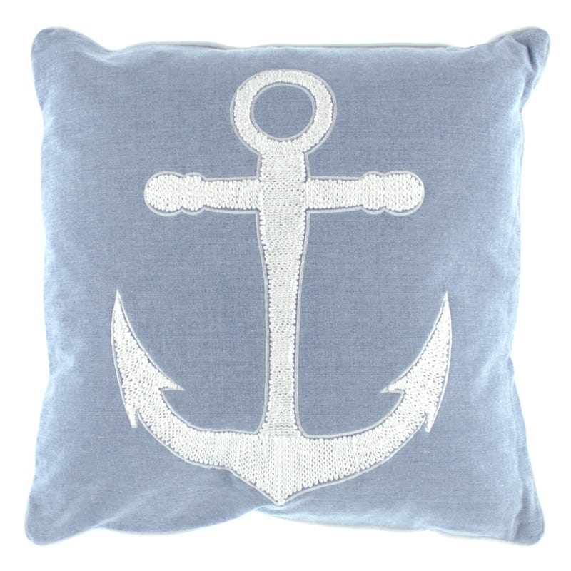 Coussin Ancre - Denim