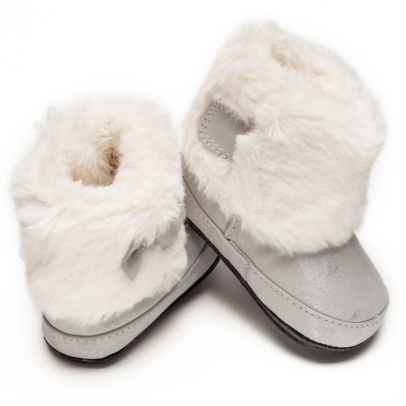 Silver Maya Boots 0-18m