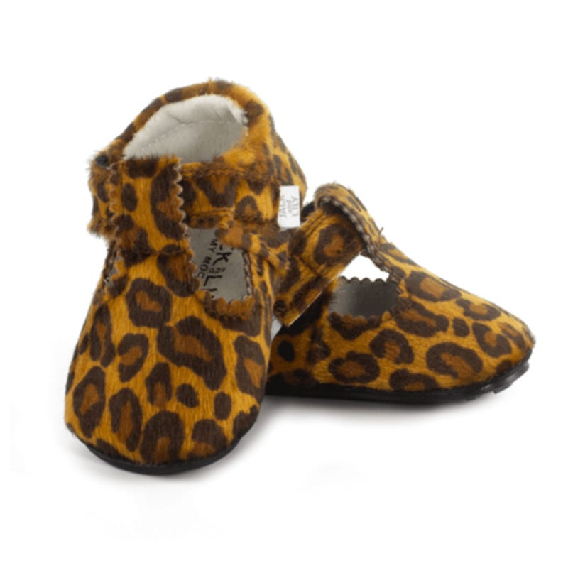 Cleo Leather Mocs 0-24m