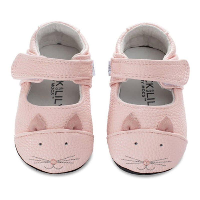 Muffin Leather Mocs 0-24m