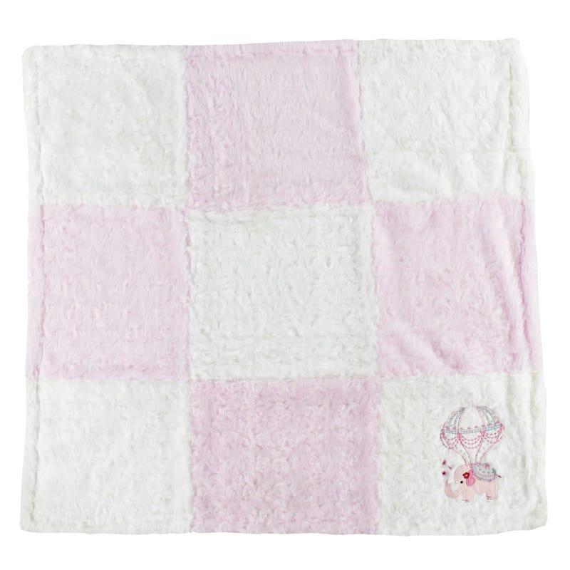 Blanket Elephant Pink