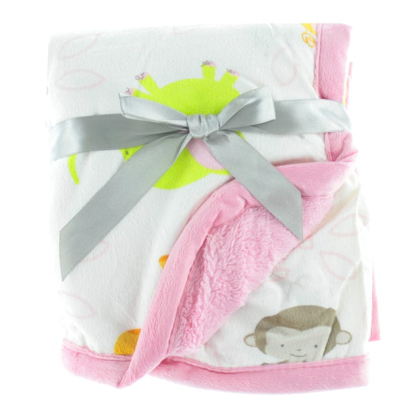 Animals Blanket - Pink