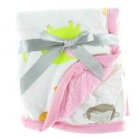 Animals Blanket - Pink