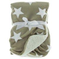 Star Blanket - Brown