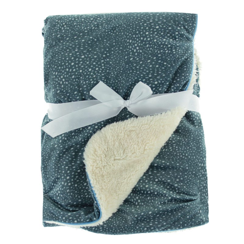 Dotted Blanket - Navy