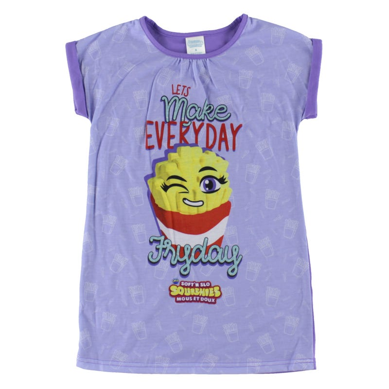 Squishies Nightgown 4-10y