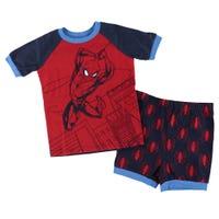 Spiderman Short Pajamas 2-6x
