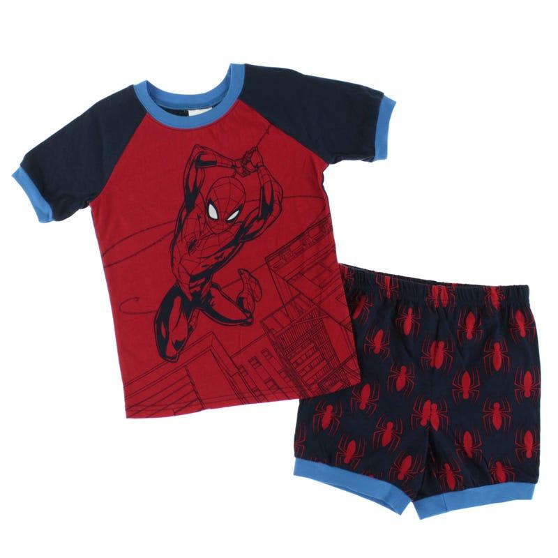 Spider-Man Short Pajama Set 2-6y