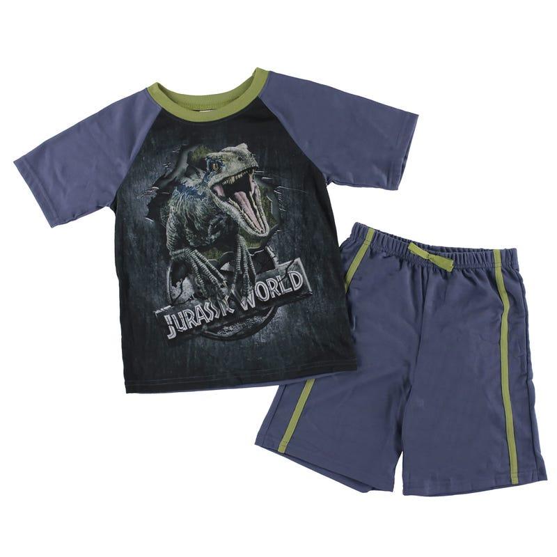 Jurassic Short Pajamas 4-12y