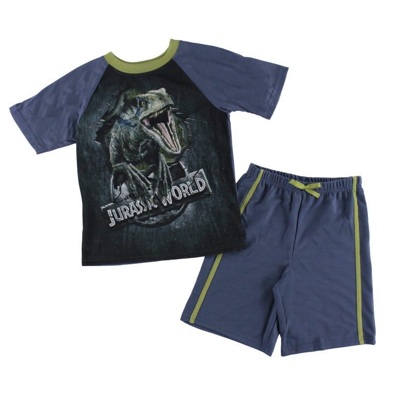 Jurassic World Short Pajama Set 4-12y