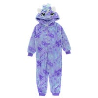 Unicorn 1pc Pajamas 2-4