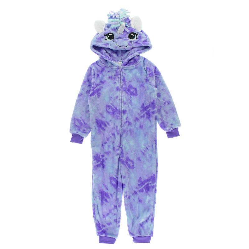 Unicorn 1pc Pajamas 2-4