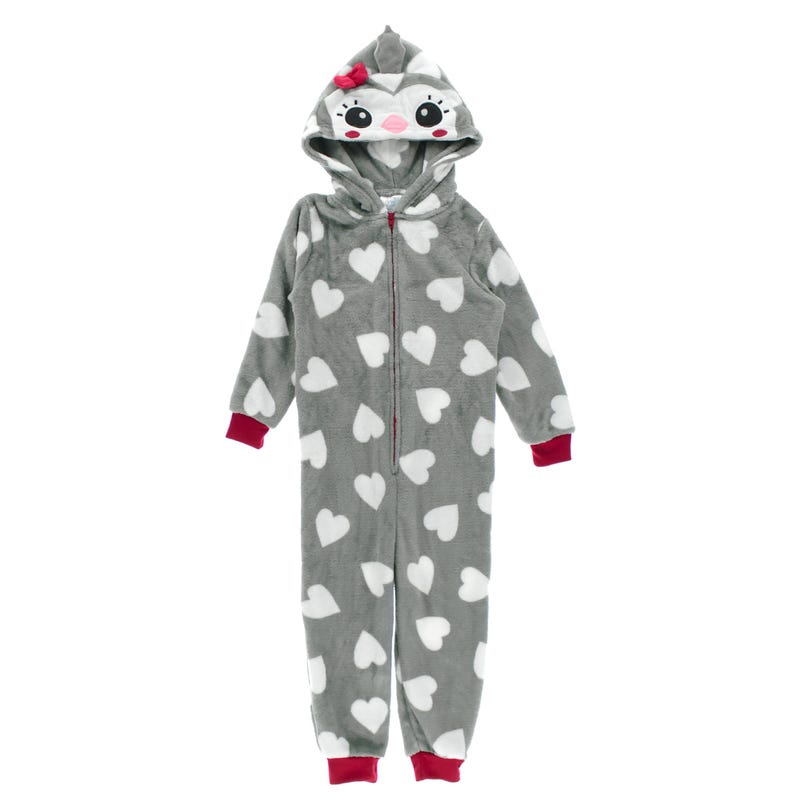 Penguin 1pc Pajamas 2-4