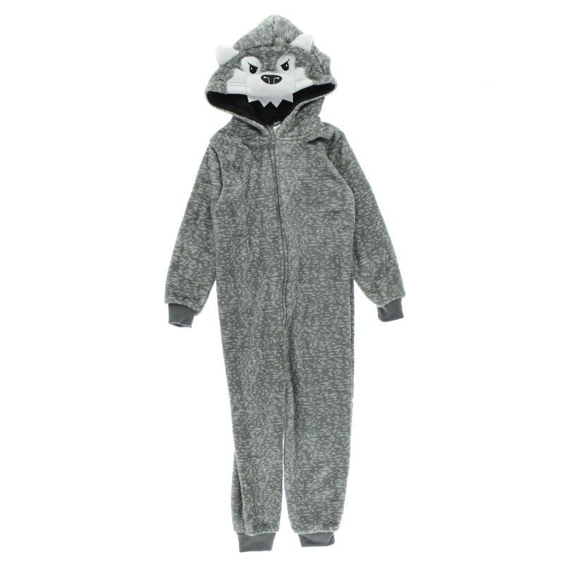 Wolf 1pc Pajamas 2-4