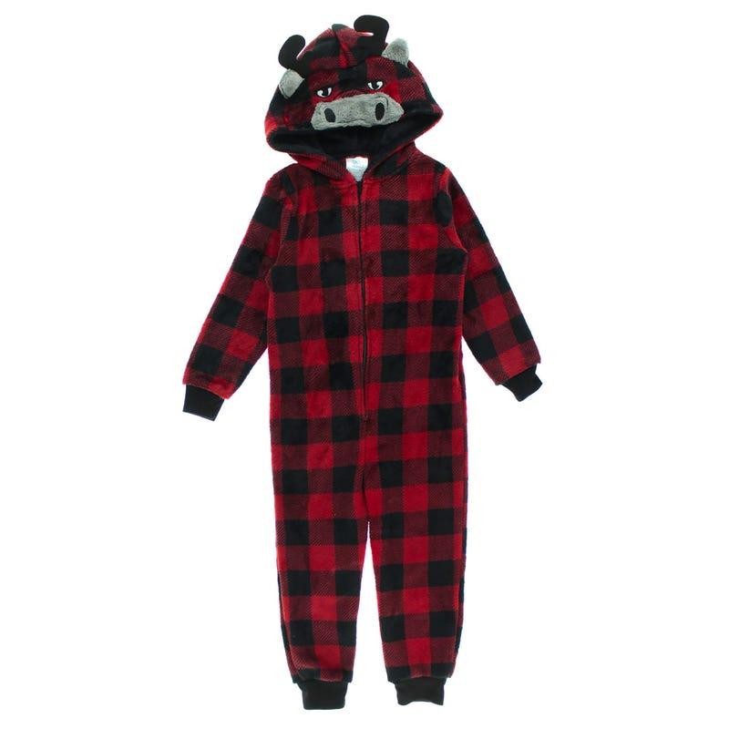 Moose 1pc Pajamas 2-4