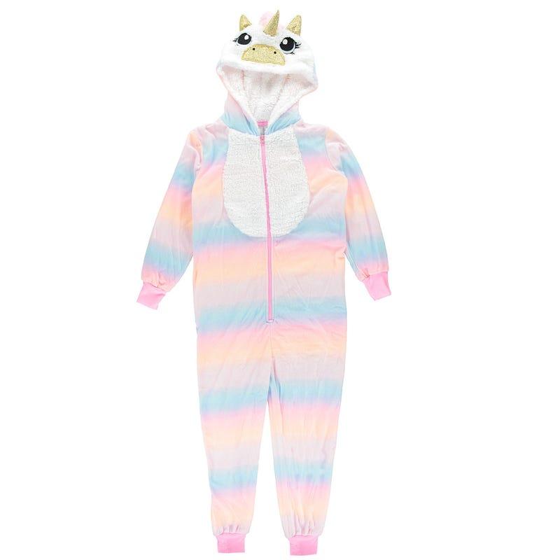 Unicorn One Piece Pyjamas 4-16y