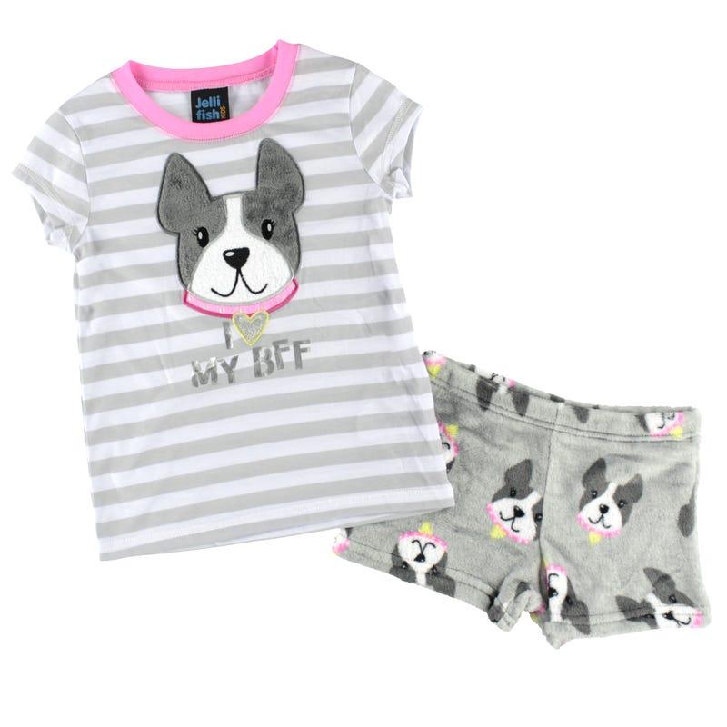 Pyjama Court Chien 4-16ans