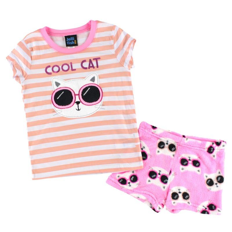 Pyjama Court Chat 4-16ans