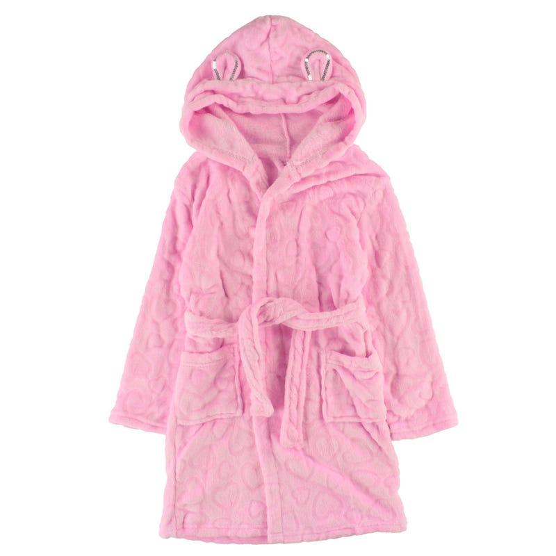 Robe De Chambre Rose 4-16ans