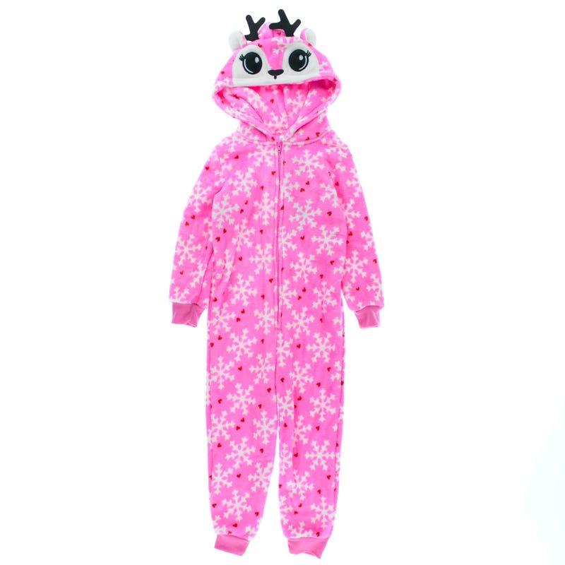 Deer 1pc Pajamas 4-16