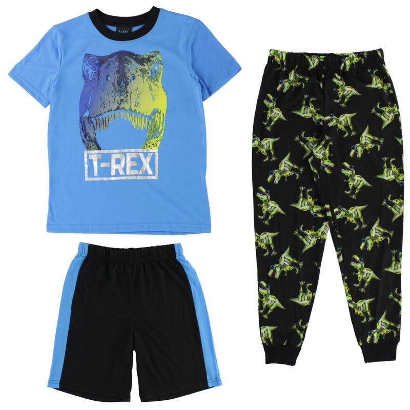 Pyjama 3pcs Dino 4-16