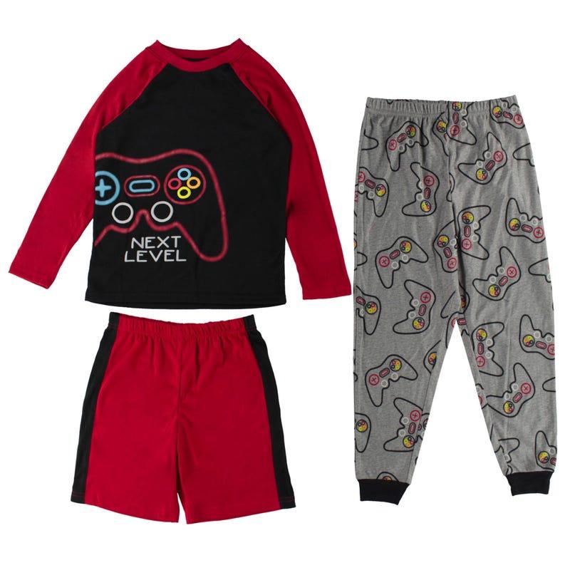 Pyjama 3 Pièces Jeu 4-16ans