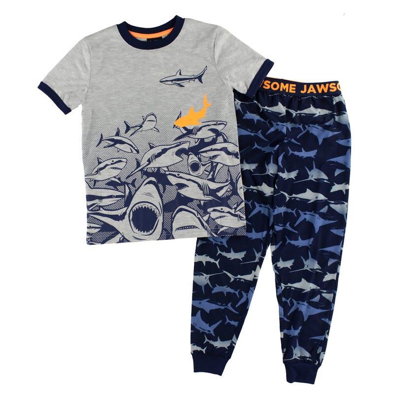 Shark Pajamas 4-16