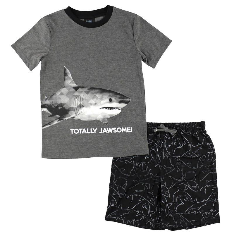 Shark Short Pyjamas 4-16y
