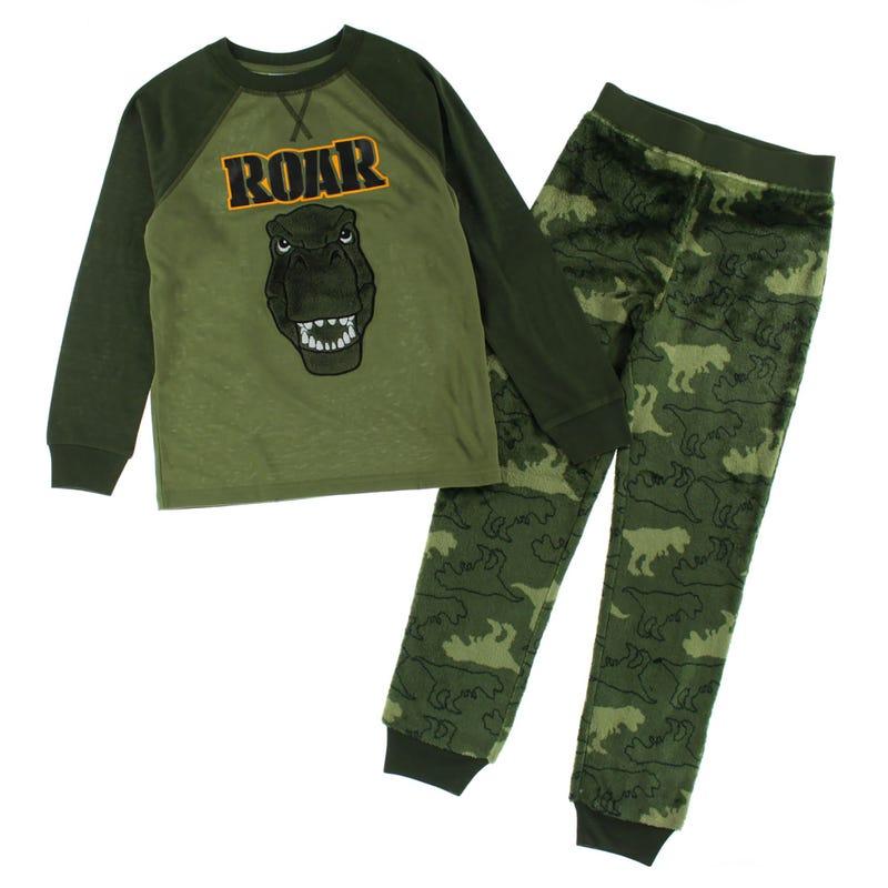 Dino Pajamas 4-16