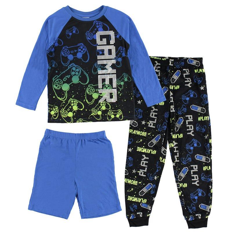 Gamer 3 Pieces Pyjamas 4-16y