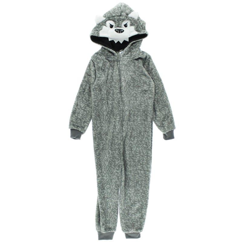 Wolf 1pc Pajamas 4-16
