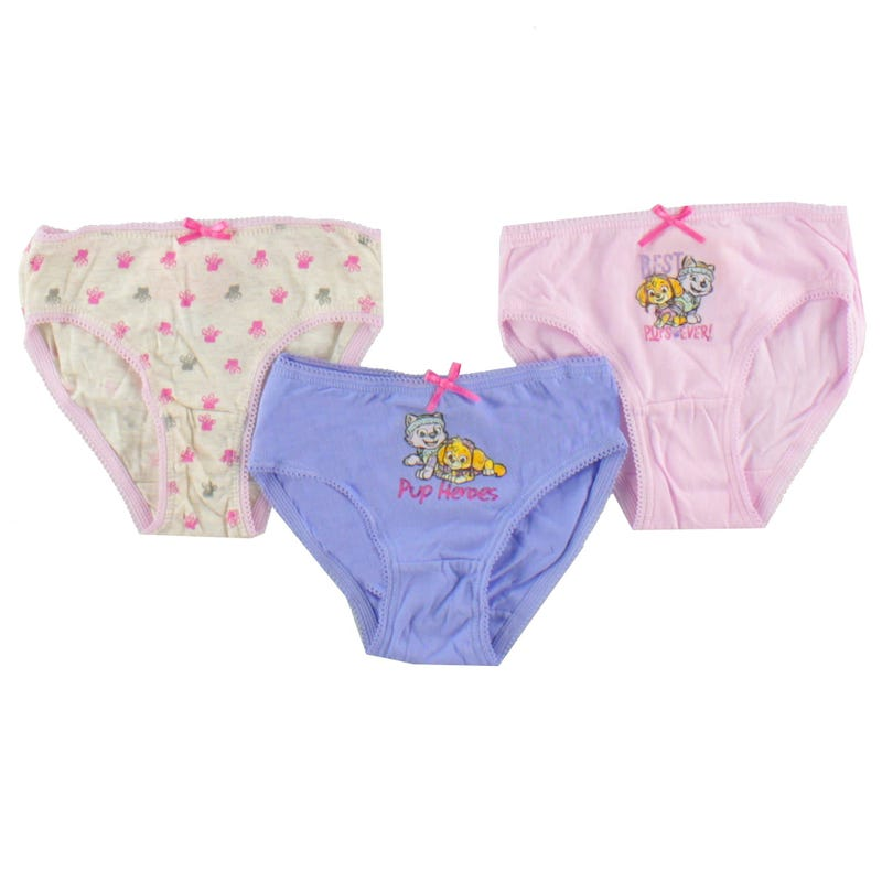 Paw Patrol Underwear 2-6y Set of 3 - Pink