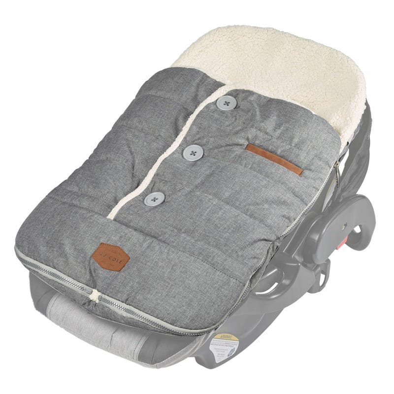 Urban Bundleme Car Seat Cover - Heather Gray