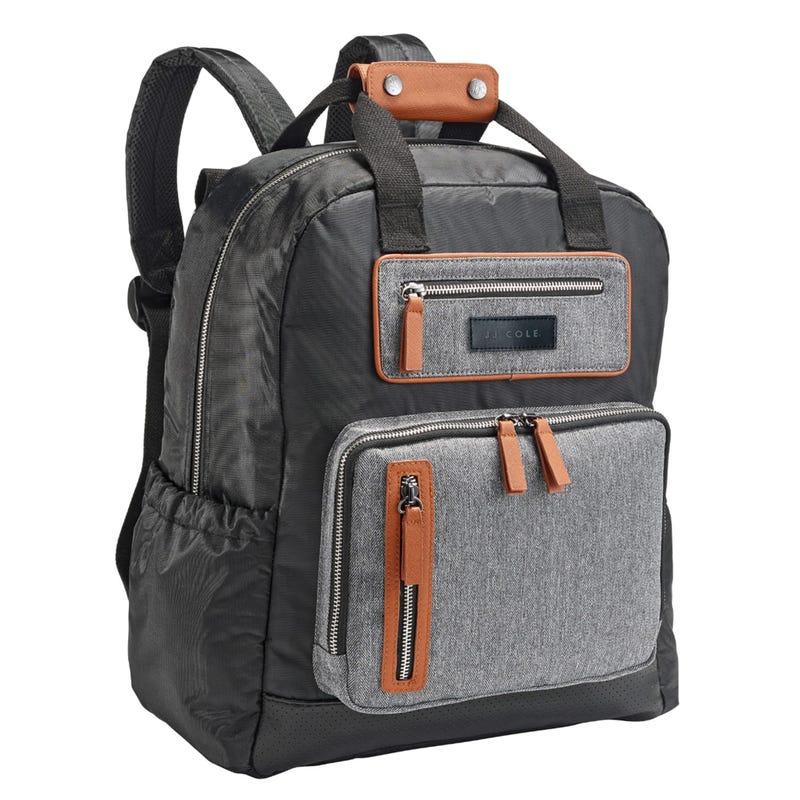 Papago Backpack Diaper Bag - Gray